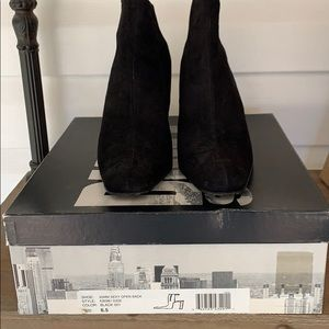 DKNY Open  Back Booties